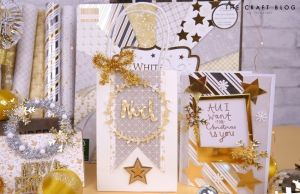 "First edition 6""x6"" Paper Pad - White Christmas FEPAD223X19"