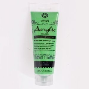 Acrylic paint 120ml - green mid A1255-1