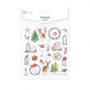 Stickers 28 pcs - Christmas time DPNK-099