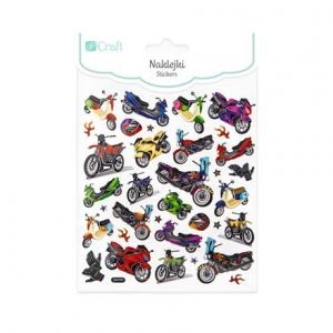 Stickers 34 pcs - Motorcycles DPNK-104