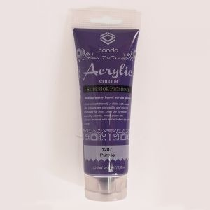 Acrylic paint 120ml - purple A1287