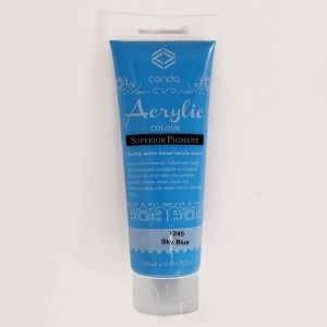 Acrylic paint 120ml - sky blue A1245