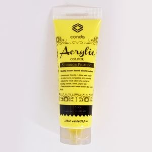 Acrylic paint 120ml - lemon yellow A1206