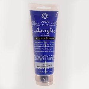 Acrylic paint 120ml - ultramarine blue A1241-1
