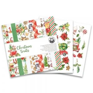 "Paper Pad 6""x6"" - Christmas Treats  P13-CHT-09"