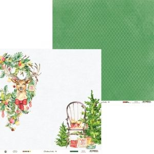 "Double-sided scrapbook paper 12""x12"" - Christmas Treats 03 P13-CHT-03"