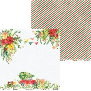 "Double-sided scrapbook paper 12""x12"" - Christmas Treats 06 P13-CHT-06"