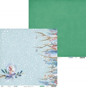 "Double-sided scrapbook paper 12""x12"" - North Pole 01 P13-185"