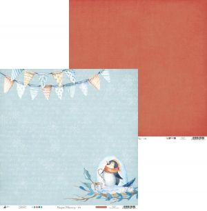 "Double-sided scrapbook paper 12""x12"" - North Pole 03 P13-187"