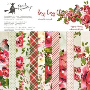 "Paper Pad 12""x12"" - Rosy Cosy Christmas P13-321"