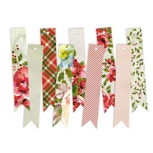 Tags 7 pcs - Rosy Cosy Christmas 03 P13-331