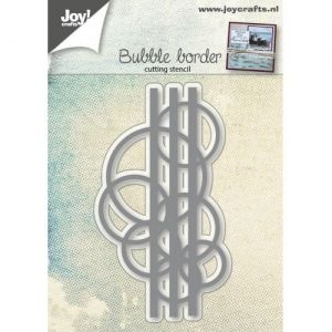 Cutting, embossing  stencil - Bubbles border 6002-0519