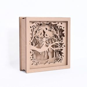 3D wooden frame - Fairy IDEA1792