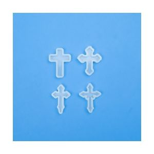 Silicone molds Cross, 4 pieces, ICROCI