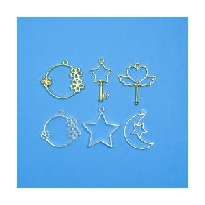 Charms Charming, 6 pieces, IBCHAR