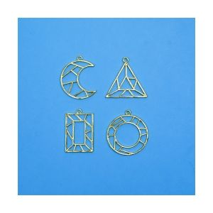 Charms Geometric, 4 pieces, IBGEO