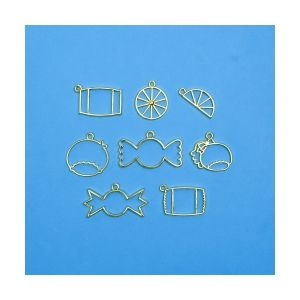 Charms Candy Gold, 8 pieces, ICANDY