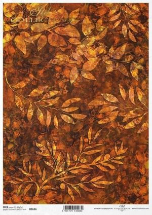 Decoupage Rice Paper A4 - Autumn background ITD-R1616