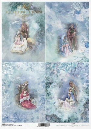 Decoupage Rice Paper A4 - Holy Family ITD-R1627