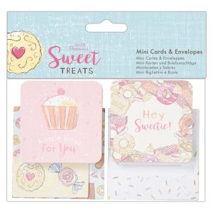 Cards & Envelopes A6 (10pk) - Sweet Treats PMA-165127
