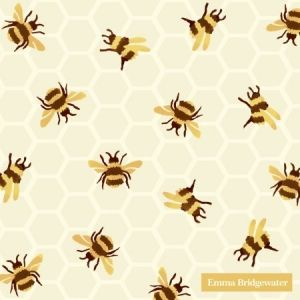 Decoupage napkins 25x25cm, 20 pcs. - BUMBLE BEE C862300