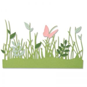 Sizzix Thinlits Die Set 4PK - Springtime Borders 664382