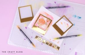Dovecraft Photo Frames - Gold DCBS236