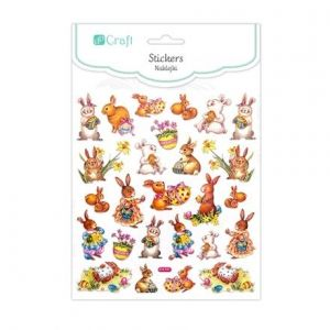 Stickers 26 pcs - Easter bunnies DPNK-016