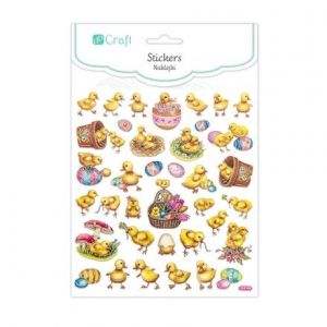 Stickers 37 pcs - Easter chickens DPNK-006