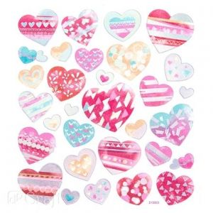 Stickers 31 pcs - Hearts DPNK-071