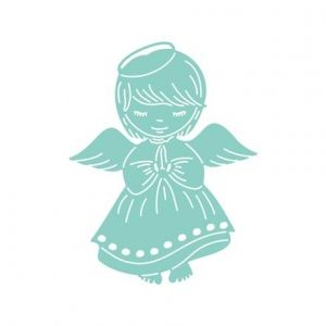 Cutting Dies - Little Angel Girl JCMA-124