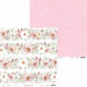 "Double-sided scrapbook paper 12""x12"" - The Four Seasons - Spring P13-SPR-02"