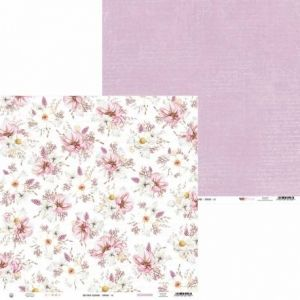 "Double-sided scrapbook paper 12""x12"" - The Four Seasons - Spring P13-SPR-03"
