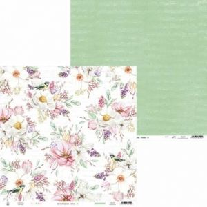 "Double-sided scrapbook paper 12""x12"" - The Four Seasons - Spring P13-SPR-04"