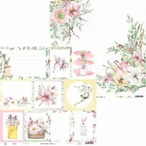 "Double-sided scrapbook paper 12""x12"" - The Four Seasons - Spring P13-SPR-05"