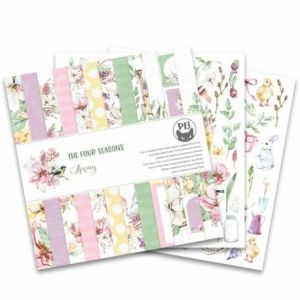 "Paper Pad 12""x12"" - The Four Seasons - Spring P13-SPR-08"