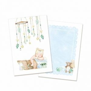 Set of cards 10x15cm, 10pcs - Baby Joy Boy P13-BAB-97