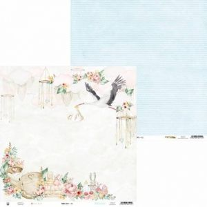 "Double-sided scrapbook paper 12""x12"" - Baby Joy P13-BAB-02"