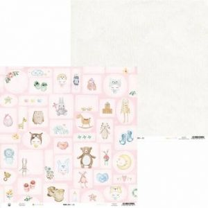 "Double-sided scrapbook paper 12""x12"" - Baby Joy P13-BAB-03"