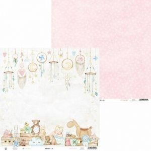 "Double-sided scrapbook paper 12""x12"" - Baby Joy P13-BAB-06"