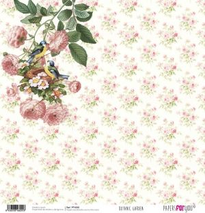 "Double-sided scrapbook paper 12""x12"" - Botanic Garden PFY-055"