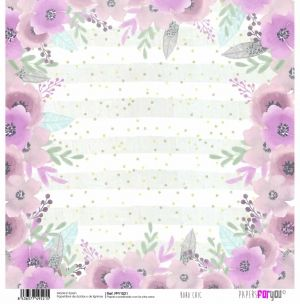 "Double-sided scrapbook paper 12""x12"" - Boho chic PFY-1521"