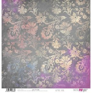 "Double-sided scrapbook paper 12""x12"" - Gothic soul PFY-1688"
