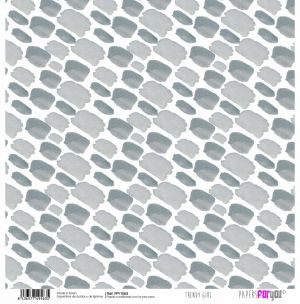 "Double-sided scrapbook paper 12""x12"" - Trendy girl PFY-1563"