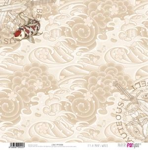 "Double-sided scrapbook paper 12""x12"" - Its a mans world PFY-2445"