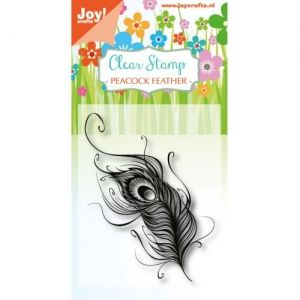 Clear Stamp - Peacockfeather 6410-0411