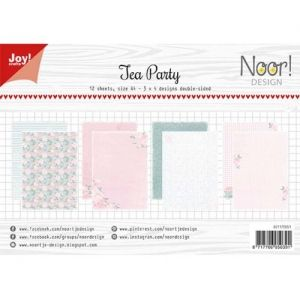Paper pad A4 12 sheets - Tea Party 6011-0651