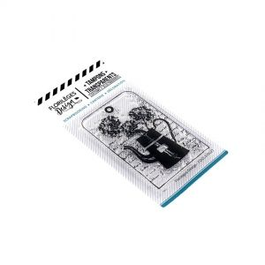 Clear stamp - Verseuse fleurie FDCL318027