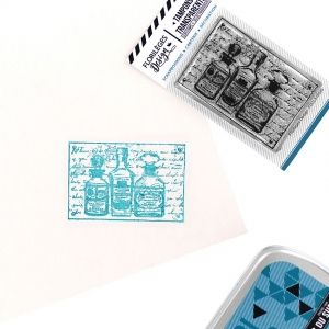 Clear stamp - Trio de flacons FDCL318026