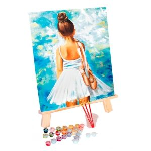 Painting by numbers 40x50cm - Little ballerina MG2054e